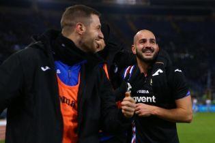 Фанаты итальянского клуба оставили героя матча без трусов после гола в компенсированное время