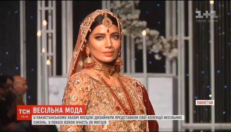 Дизайнеры Пакистана представили коллекции свадебных платьев