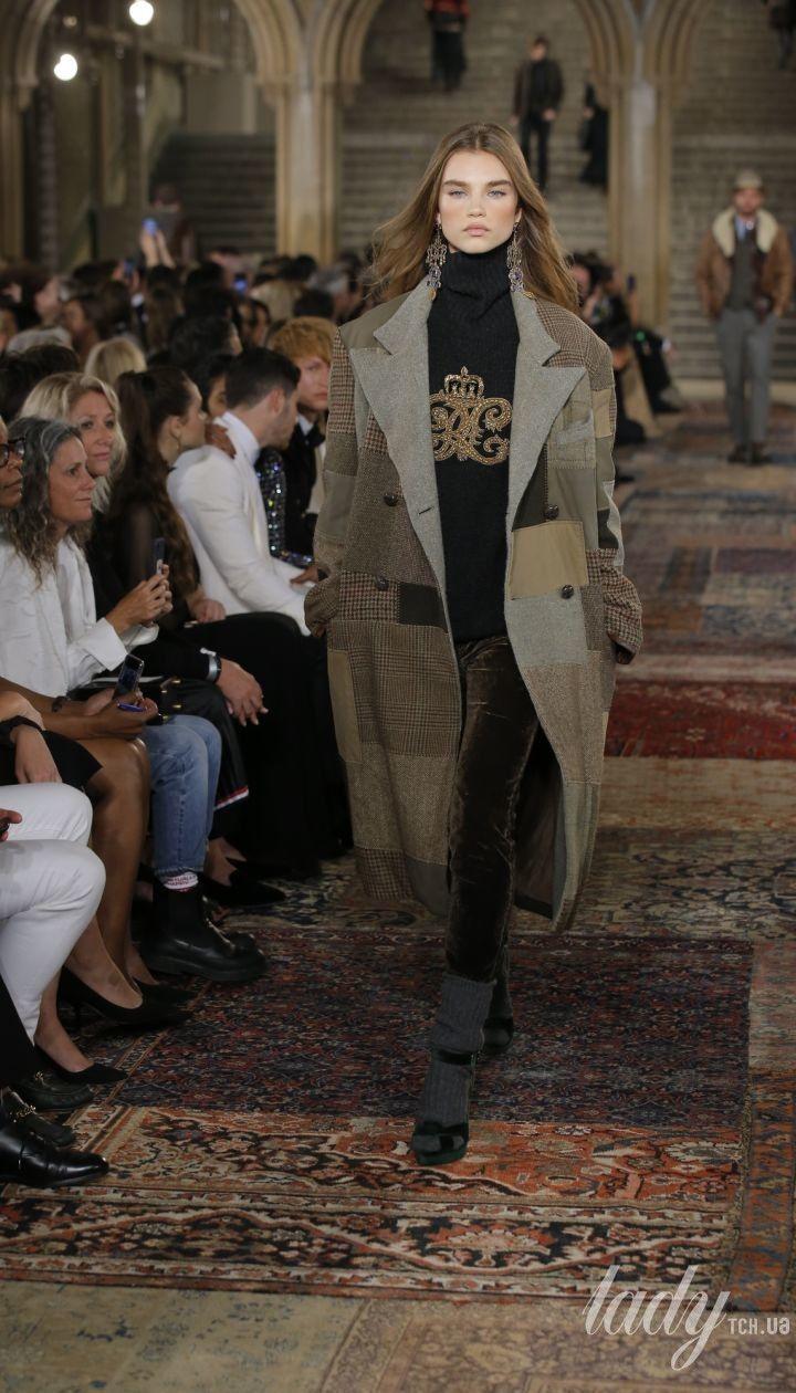 Коллекция Ralph Lauren прет-а-порте сезона весна-лето 2019 @ East News