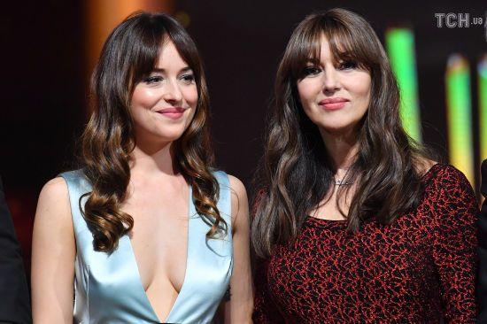 Розкішна Беллуччі та відверта Джонсон викликали фурор на кінофестивалі в Марракеші
