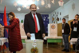 ЦИК Армении обнародовала результаты внеочередных парламентских выборов