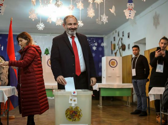 ЦВК Вірменії оприлюднила результати позачергових парламентських виборів
