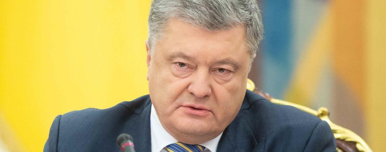Порошенко объяснил, как введение военного положения повлияет на ситуацию на Донбассе