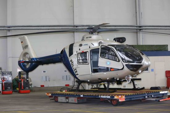 МВС України отримало новий французький вертоліт