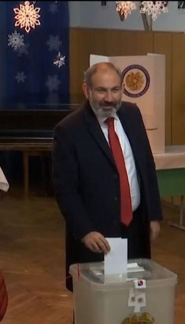 В Армении провели первые в истории страны внеочередные парламентские выборы