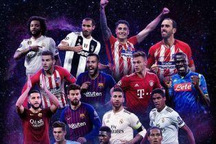 50 футболістів претендують на потрапляння до збірної року УЄФА