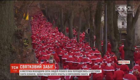 В немецком городке Михендорф стартовал рождественский марафон