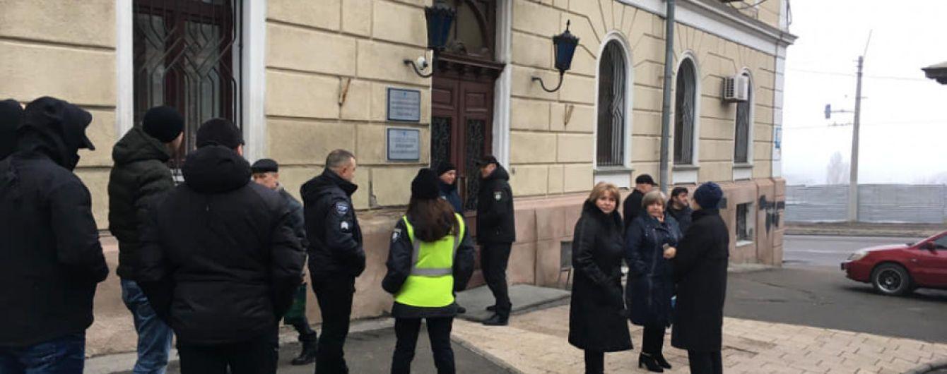 В полиции опровергли захват Одесского медуниверситета