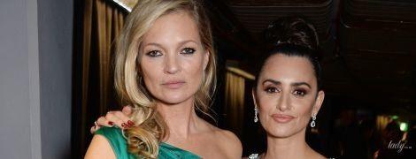 В вечерних платьях: сияющая Пенелопа Крус и уставшая Кейт Мосс на церемонии в Лондоне