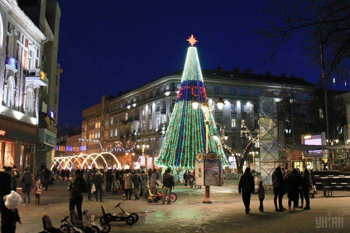 Івано-франківськ, Новиій рік, Різдво