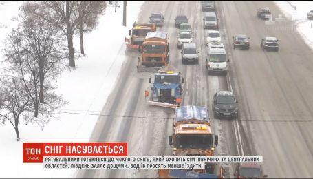 Сніг, дощ та пориви вітру: в Україні очікують погіршення погодних умов