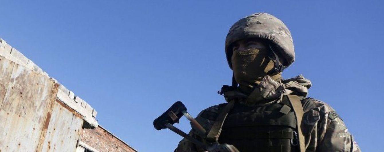В первый день года в зоне ООС погиб военный