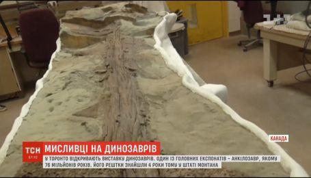 На виставці у Торонто показали анкілозавра, якому 76 мільйонів років