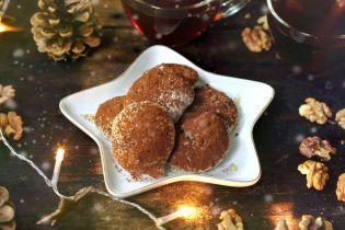 Орехово-шоколадное печенье на белках