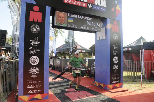 Даніїл Сапунов, Ironman