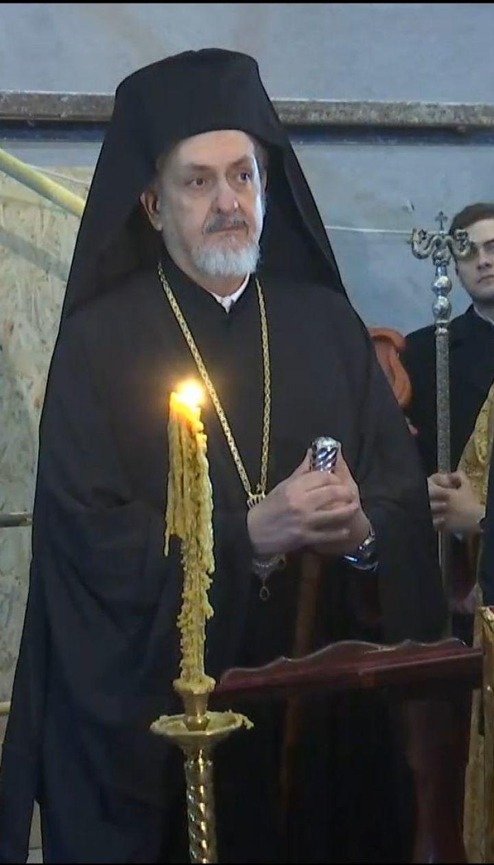 В Андріївській церкві відбулася перша літургія Вселенського патріархату