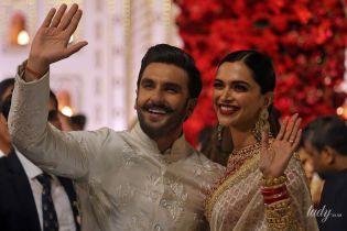 Болливудские звезды Дипика Падуконе и Ранвира Сингхома сыграли еще одну свадьбу