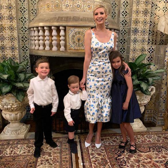 Иванка Трамп с детьми_2