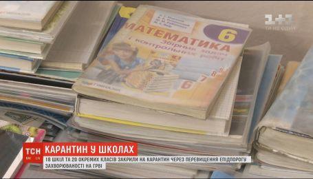Из-за массового недомогания на ОРВИ, в Сумской области приостанавливают учебу в школах