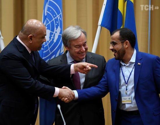 Сторони громадянської війни у Ємені домовилися припинити вогонь у Ходейді