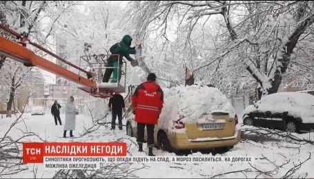 На Черниговщине 38 населенных пунктов остались без света из-за непогоды