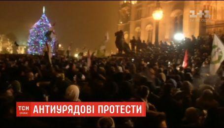 В Будапеште протестуют против изменений в трудовое законодательство
