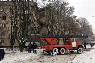 В Фастове во время взрыва в доме пострадал человек