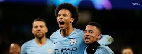 """Нападник """"Манчестер Сіті"""" визнаний найкращим футболістом тижня в Лізі чемпіонів"""
