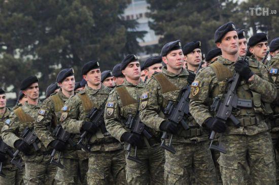 Парламент Косова ухвалив рішення про створення армії. Сербія за це погрожувала військовою інтервенцію