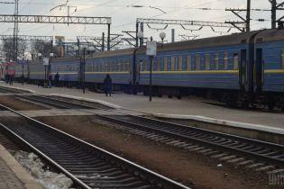 На Тернопільщині зійшов з рейок вагон потяга з пасажирами