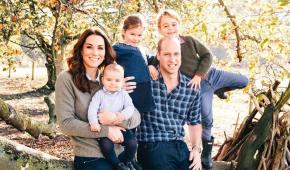 Королевская семья опубликовала открытки к Рождеству с фотографиями Кейт и Меган