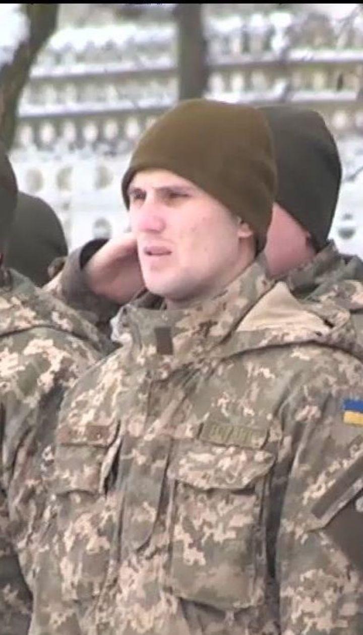 На Львівщині українських миротворців проводжали до Косова