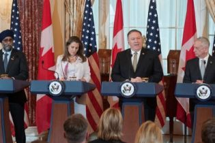 Министры обороны и МИД США и Канады осудили российскую агрессию в Азовском море