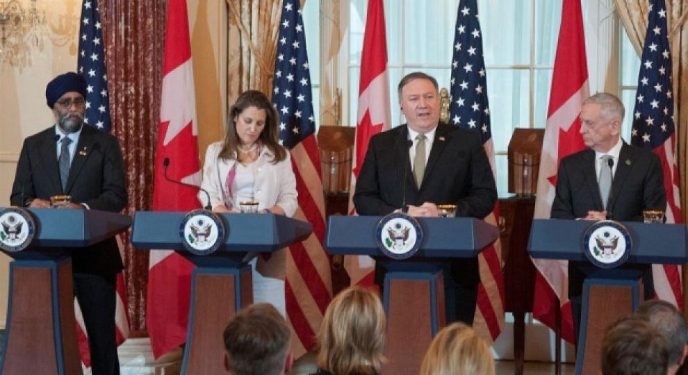 Міністри оборони і МЗС США та Канади засудили російську агресію в Азовському морі