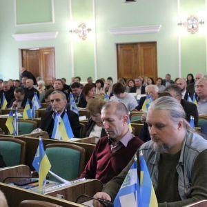 Депутати Херсонської облради позбавили російську мову статусу регіональної