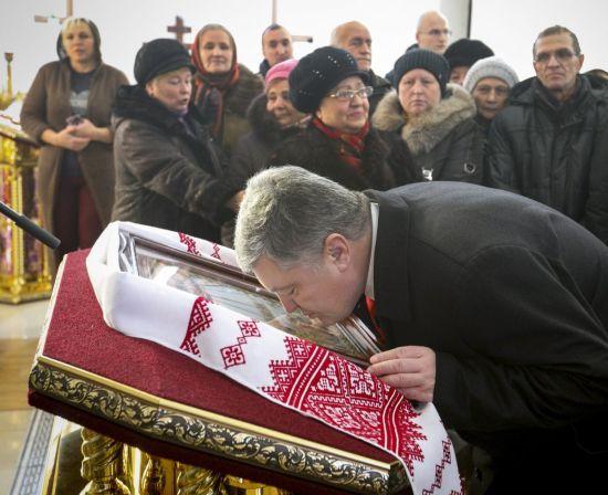 Варфоломій вважає автокефалію Уркаїни поворотним моментом в історії православ'я - Порошенко