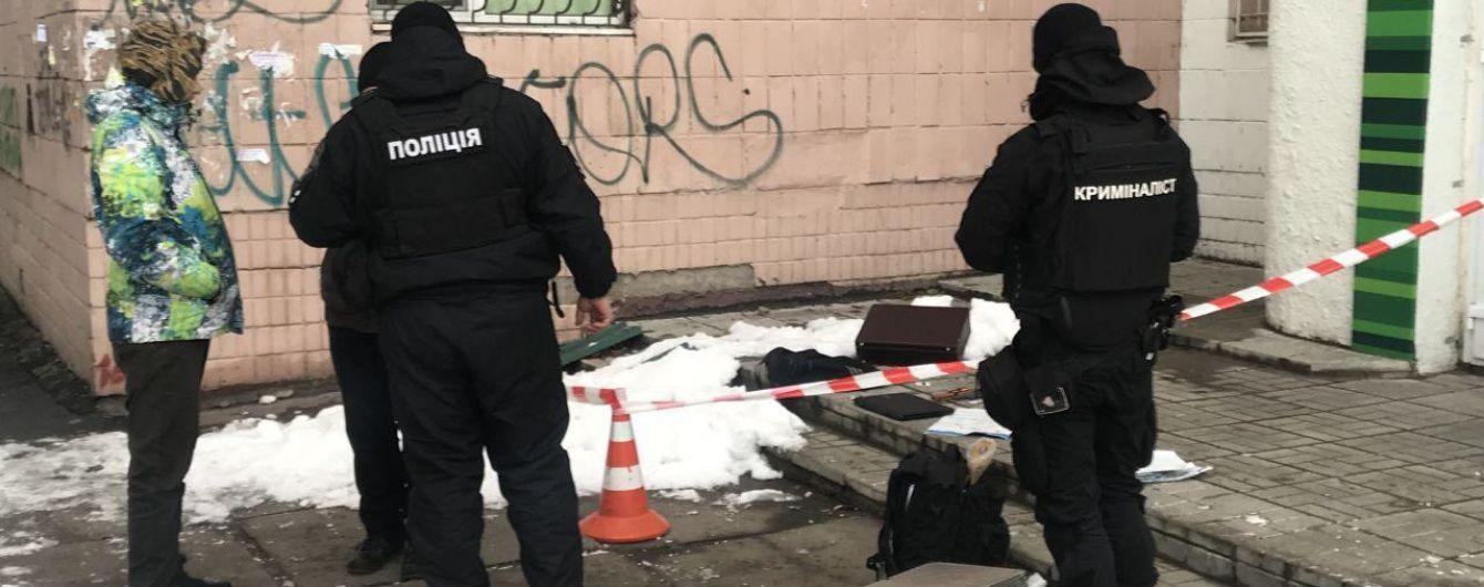 В Киеве мужчина пытался ограбить магазин оружия