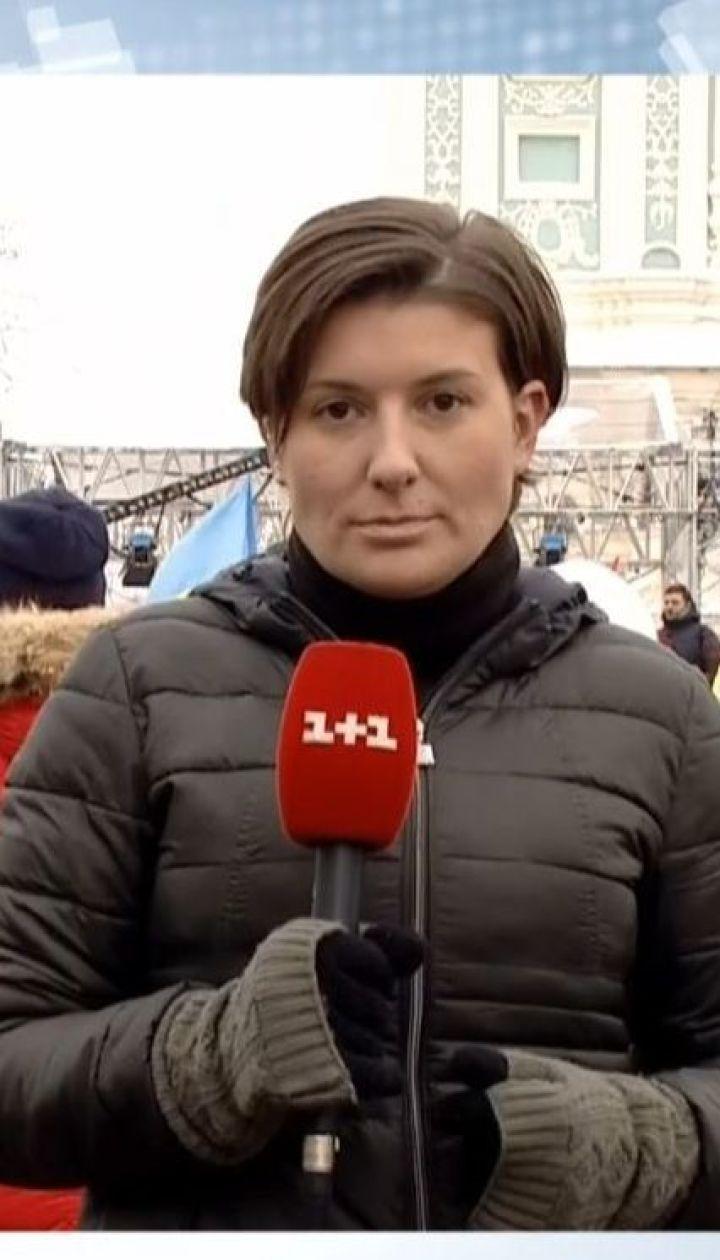 В Софии Киевской начался Объединительный Собор, на котором избирают председателя поместной украинской церкви