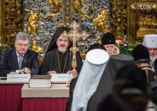 Філарет розповів, що одягнув на Об'єднавчий собор чернечу шапку на вимогу Константинополя