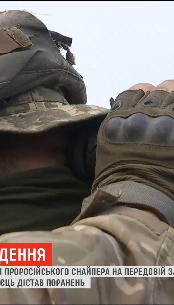 На востоке Украины от пули пророссийского снайпера погиб украинский военный