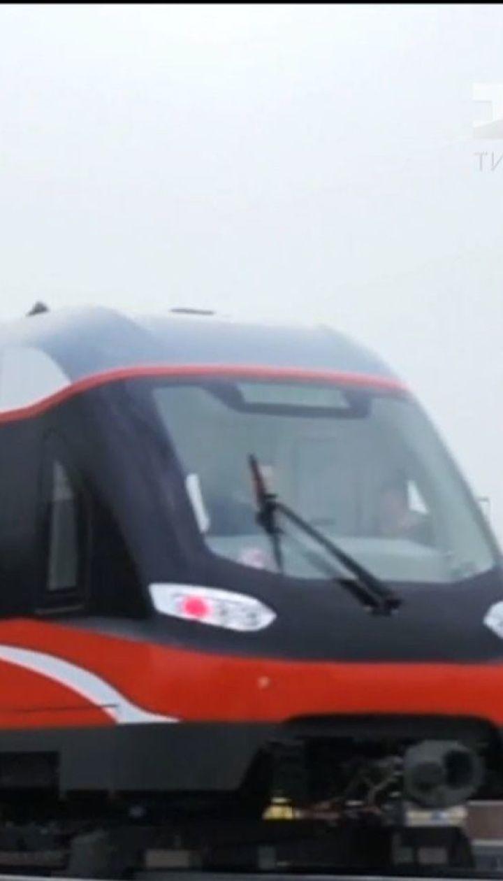 Китай створює першу в світі комерційну мережу транспорту на магнітній подушці