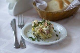 4  оригинальных рецепта салата оливье
