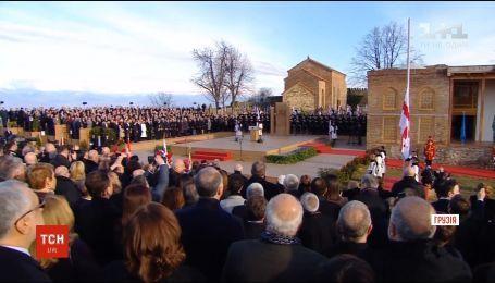В Грузии состоялась инаугурация Саломе Зурабишвили