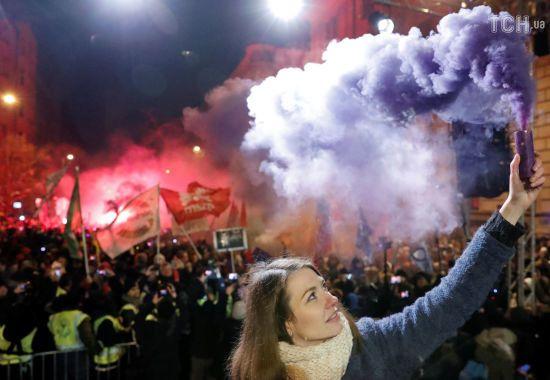 В Угорщині вже четвертий день тривають масові антиурядові протести