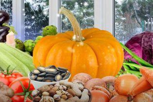 Зимние овощи на вашем столе