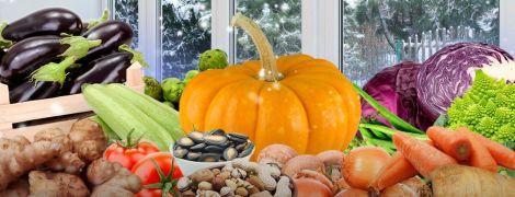 Зимові овочі на вашому столі