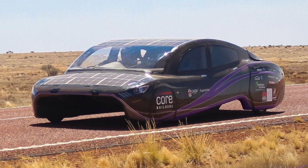 В Австралії електрокар на сонячних батареях встановив світовий рекорд ефективності