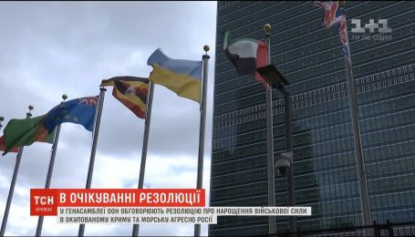 В Генассамблеи ООН обсуждают резолюцию об увеличении военной силы в Крыму