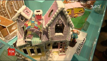 В Швеции состоялся конкурс на лучший дом из пряников