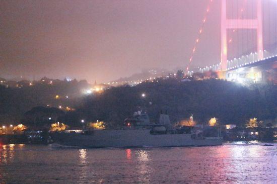Корабель Королівського ВМФ Великої Британії увійшов до Чорного моря